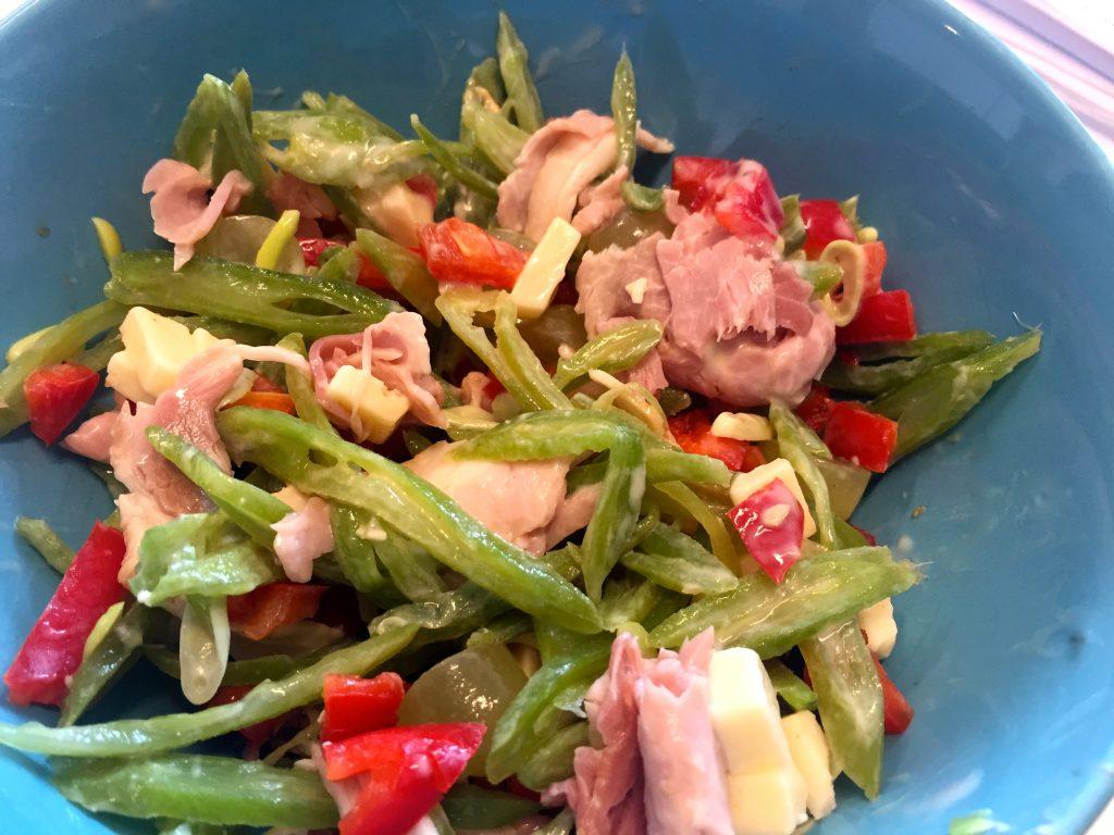 Salade van pronkers salade for Ver mangeur de salade